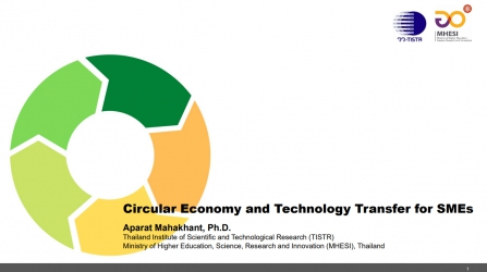 Circular Economy and Technology Transfer for SMEs