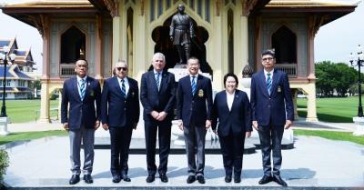 ภาพกิจกรรม : เอกอัครราชทูตไอร์แลนด์ประจำประเทศไทยเยือนวชิราวุธวิทยาลัย
