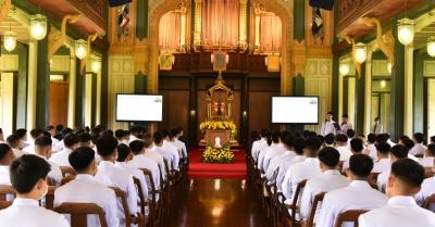 ภาพกิจกรรม : พิธีปัจฉิมนิเทศ ม.6 ปีการศึกษา 2563